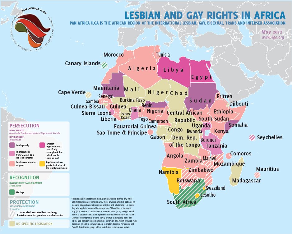 Gay rights -Africa