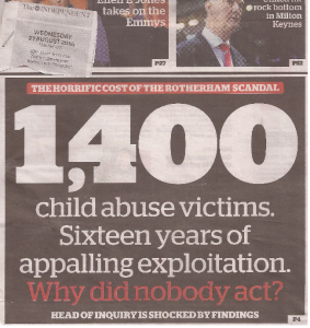 Rotherham headline on independent