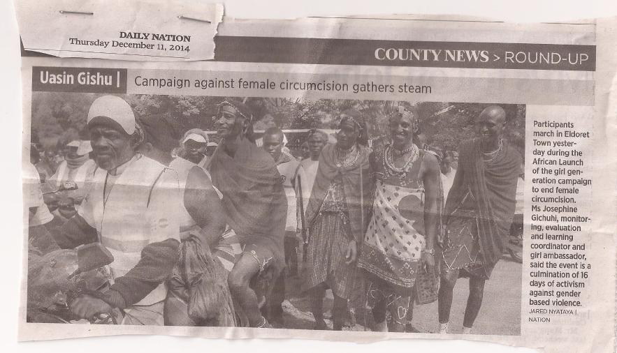 maasai against FGM