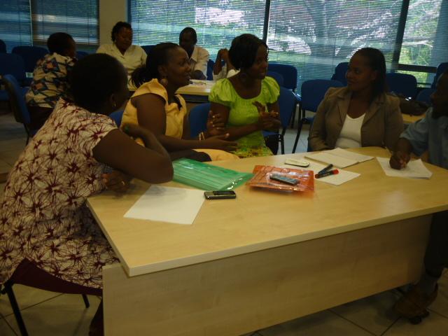 Nurses in workshop