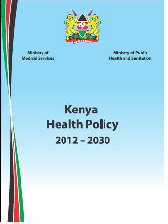 kenya health policy