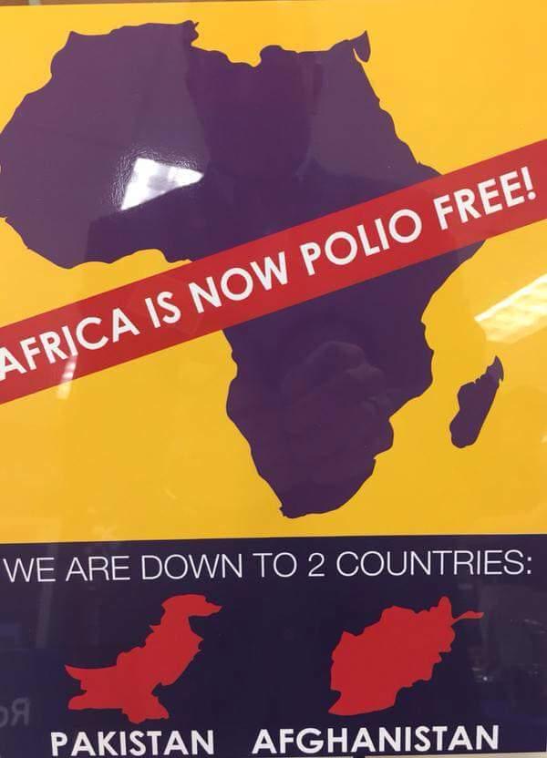 polio free Africa