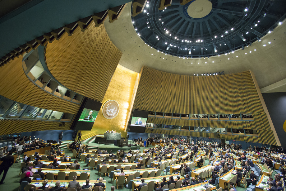 United Nations General Assembly, September 2016