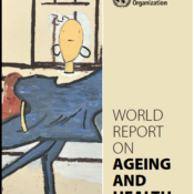 WHO cover page report on ageing and health